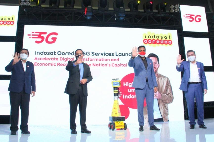 Indosat Ooredoo Luncurkan Layanan 5G di Jakarta