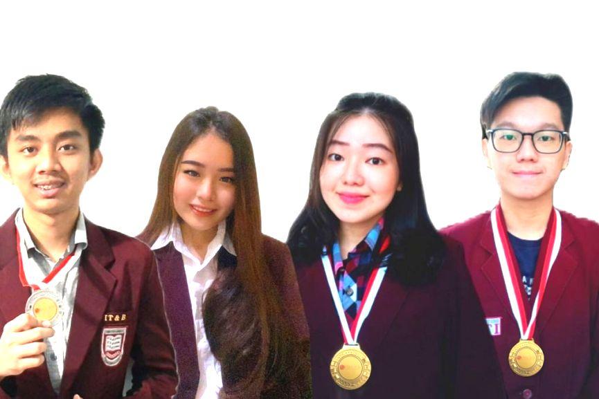 Mahasiswa IB IT&B Medan The Best Speaker dan Juara I SOVED 2021