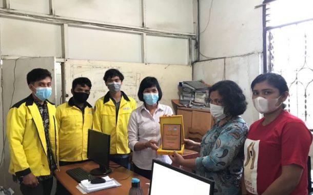 Mahasiswa FE UNITA Rampungkan KKU di PDAM Mual Na Tio Tarutung